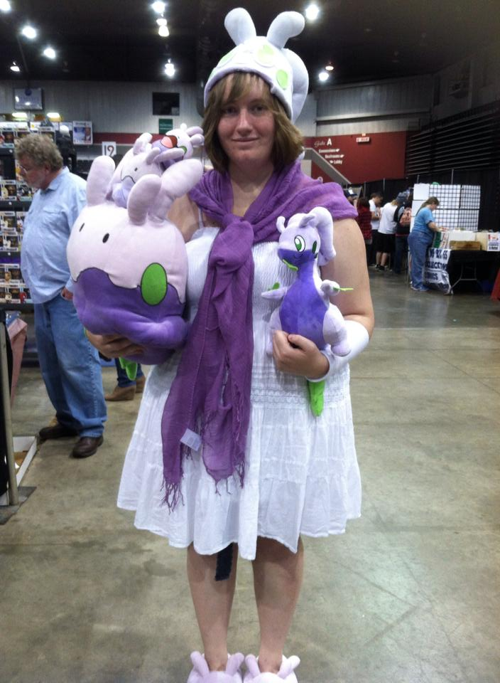 Goodra Lady by VeronicaPrower
