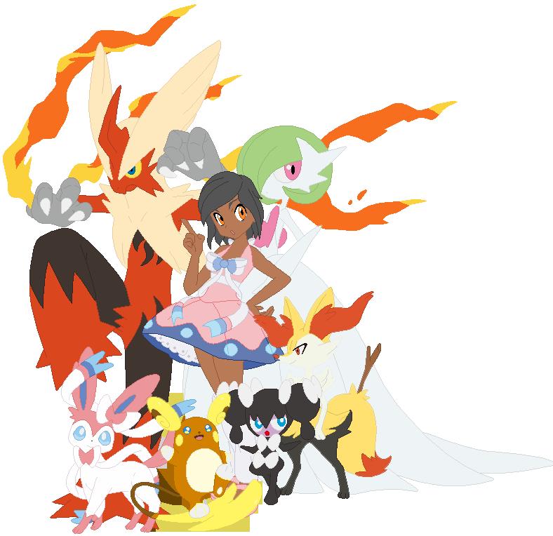 Kenja's Sun Team by VeronicaPrower
