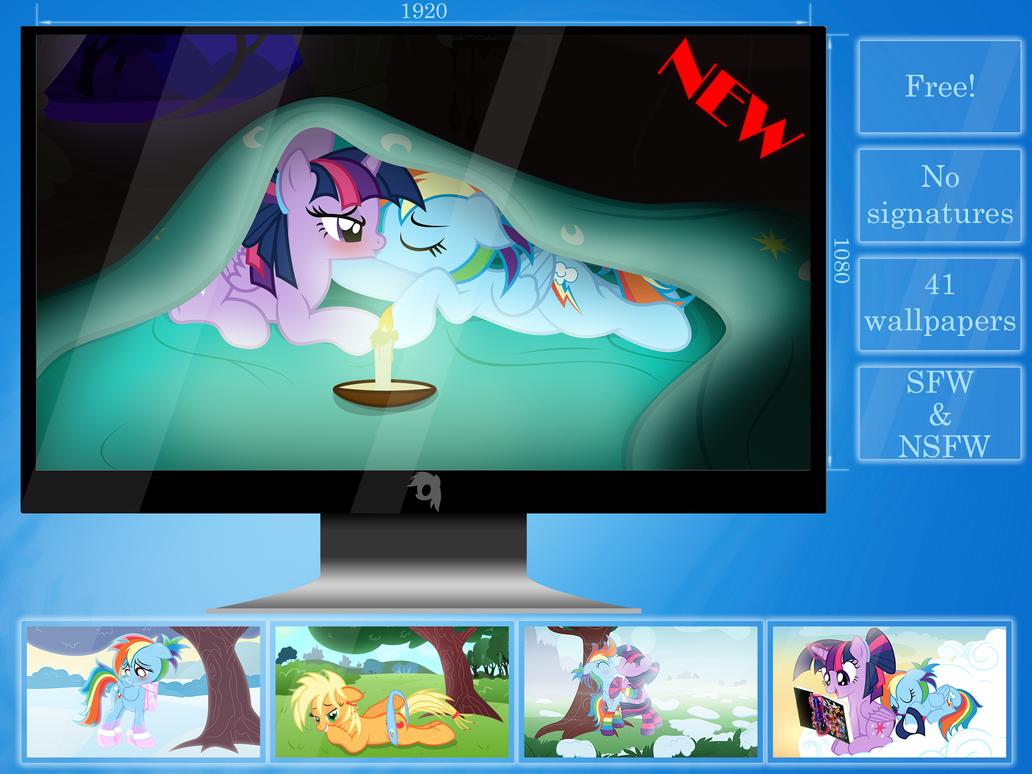 Wallpaper Compilation [+1] by RainbowDashie