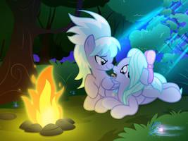 Girls' night out by RainbowDashie