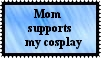 Cosplay Support Stamp by r0ckmom