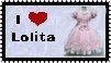 Sweet Lolita stamp by r0ckmom