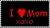 I love Mom Stamp by r0ckmom