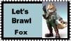 Fox Brawl Stamp by r0ckmom