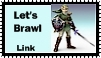 Link Brawl Stamp by r0ckmom