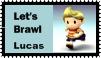 Lucas Brawl Stamp by r0ckmom