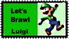 Luigi Brawl Stamps by r0ckmom
