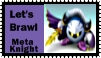 Meta Knight Brawl Stamp by r0ckmom