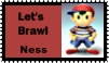 Ness Brawl Stamp by r0ckmom