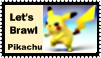 Pikachu Brawl Stamp by r0ckmom