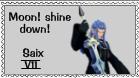 Saix Organization XIII Stamp by r0ckmom