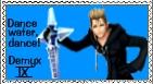 Demyx Organization XIII Stamp by r0ckmom