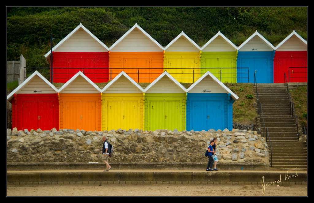 Huts by gerarduk62