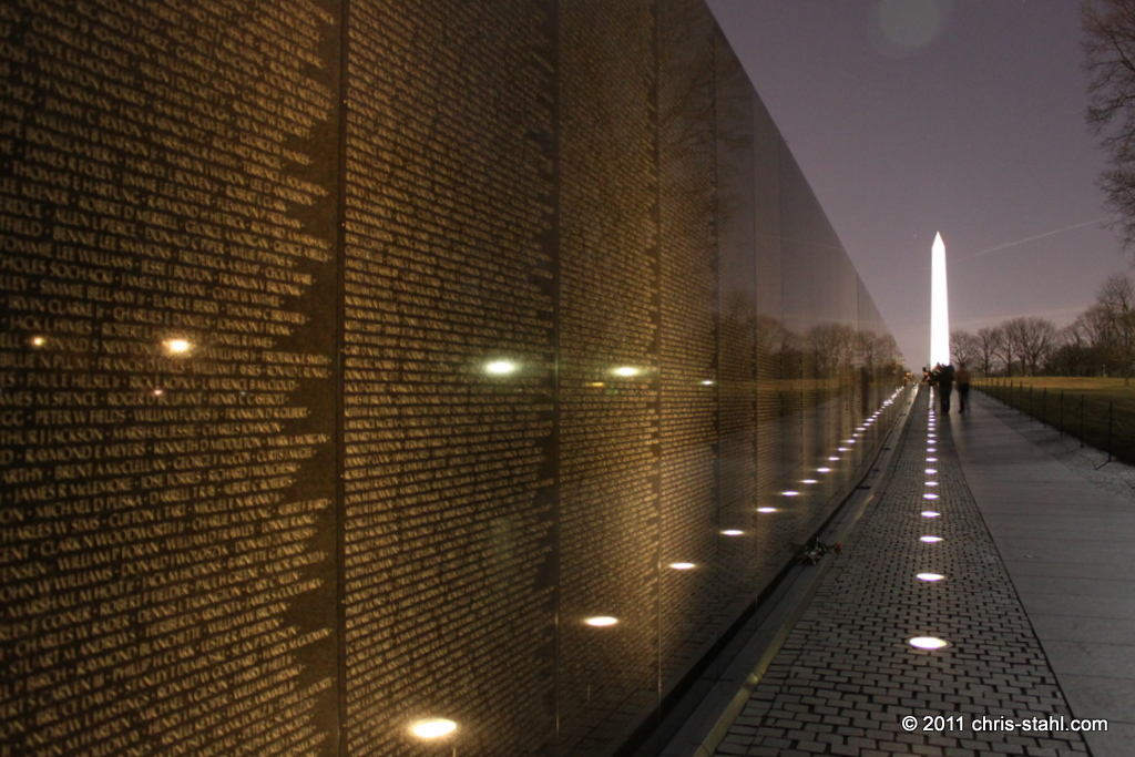 Vietnam Veterans Wall by chris stahl on DeviantArt