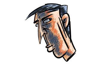 Mistrust man by traceman