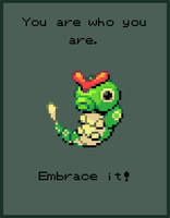 Caterpie anything else but you.