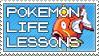 Pokemon Life Lessons stamp