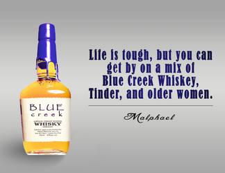 Blue Creek Whiskey by Ommin202