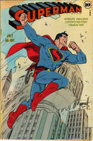 Superman, Art Deco, and Color by ComicBookArtFiend
