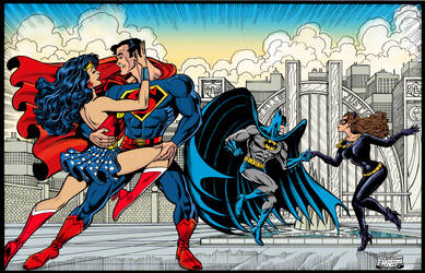 World's Finest Dance Party Colorized