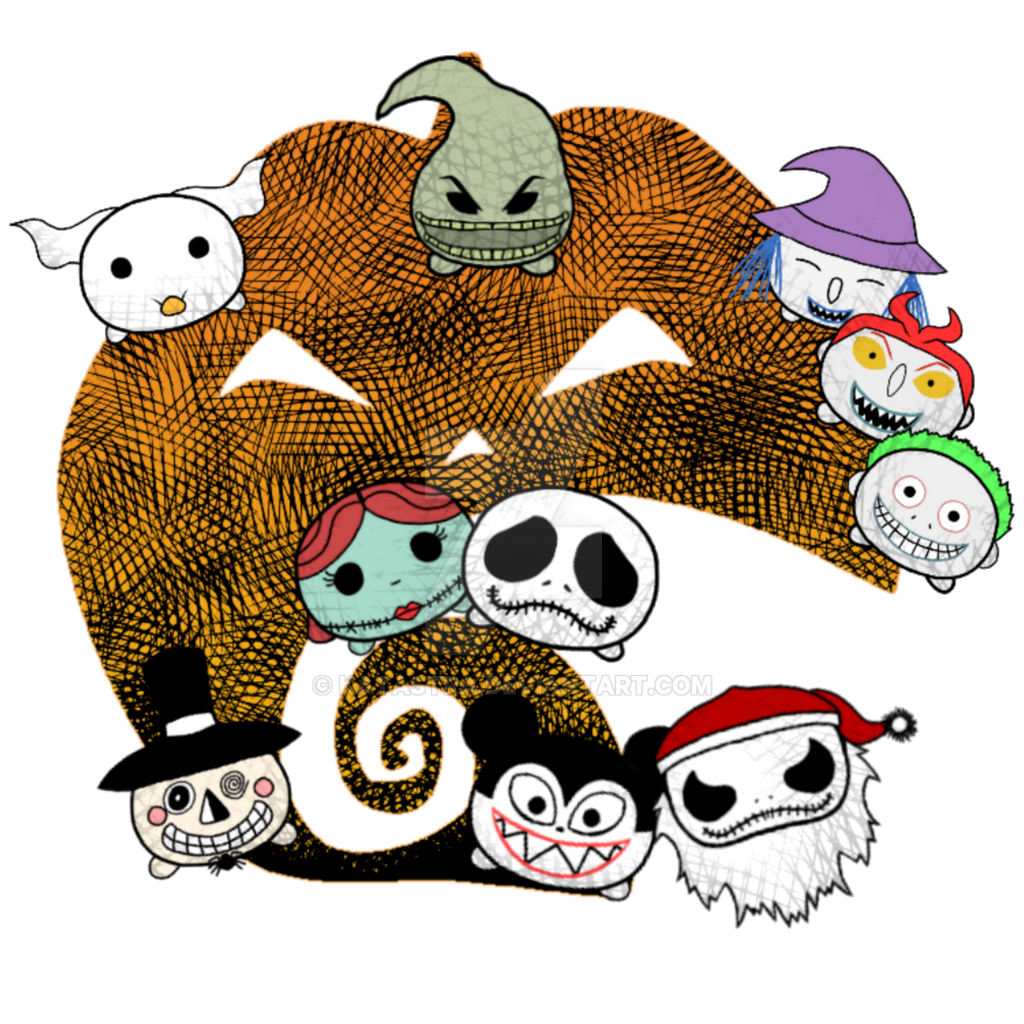 The Nightmare Before Christmas tsumtsum by katastra on DeviantArt