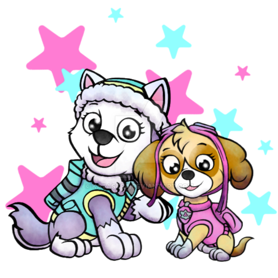 Paw Patrol Girls By Katastra On DeviantArt