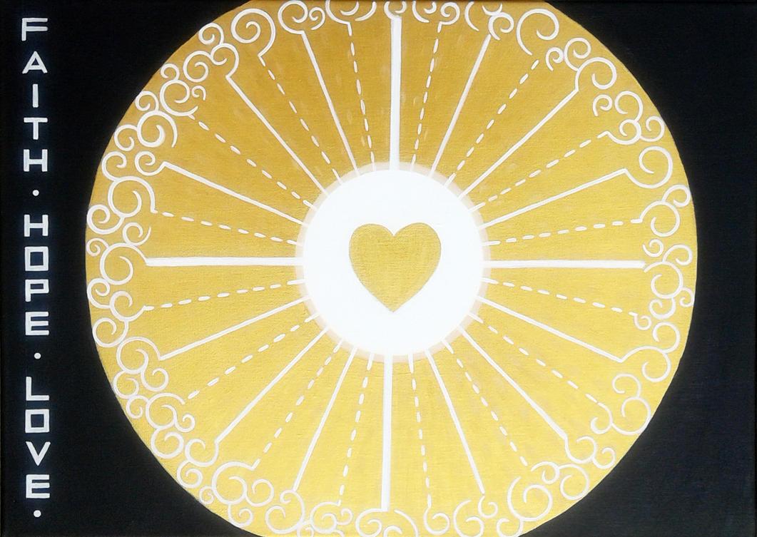 Faith, hope, love by bdoroszko