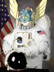 Ophanimon space suit