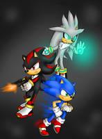 Sonic Silver Shadow by SBtheWolf12