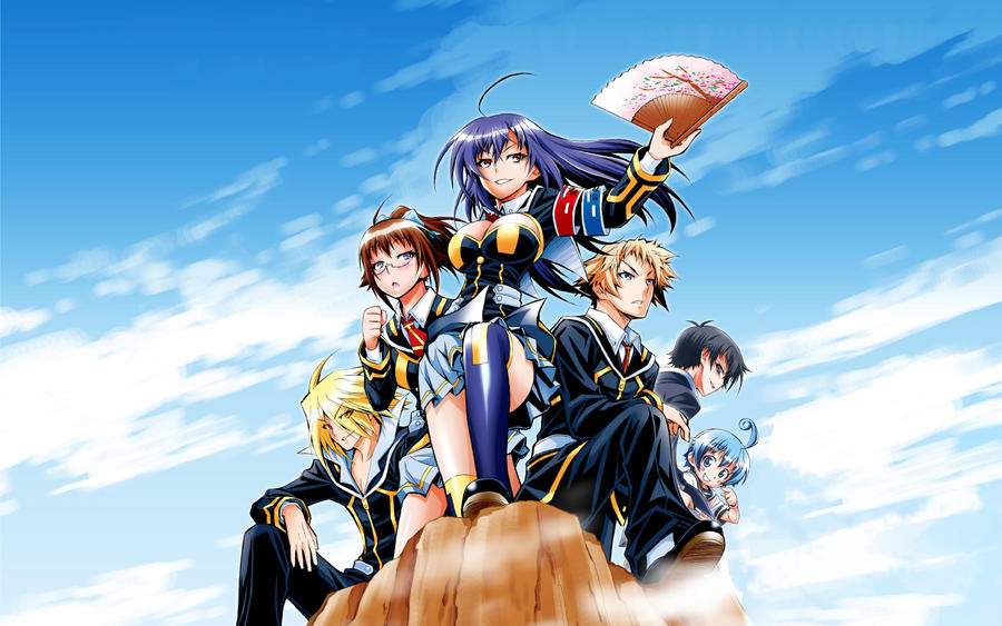 Medaka Box Wallpaper by StormBrigader on DeviantArt