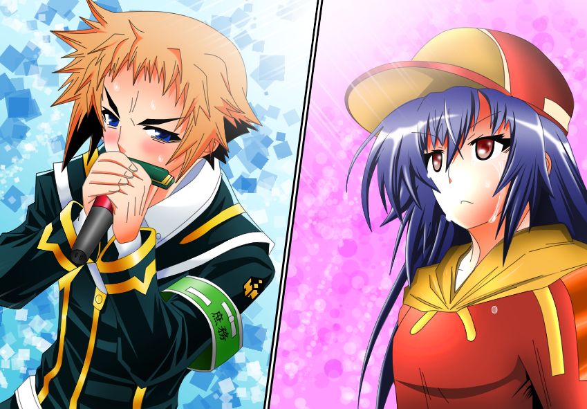 Medaka Box Colorize by StormBrigader