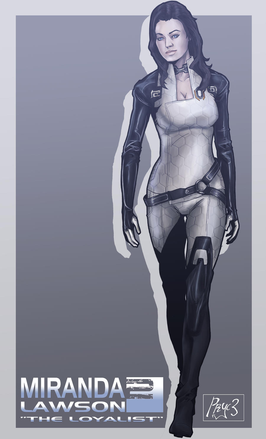 Miranda Lawson by Pryce14