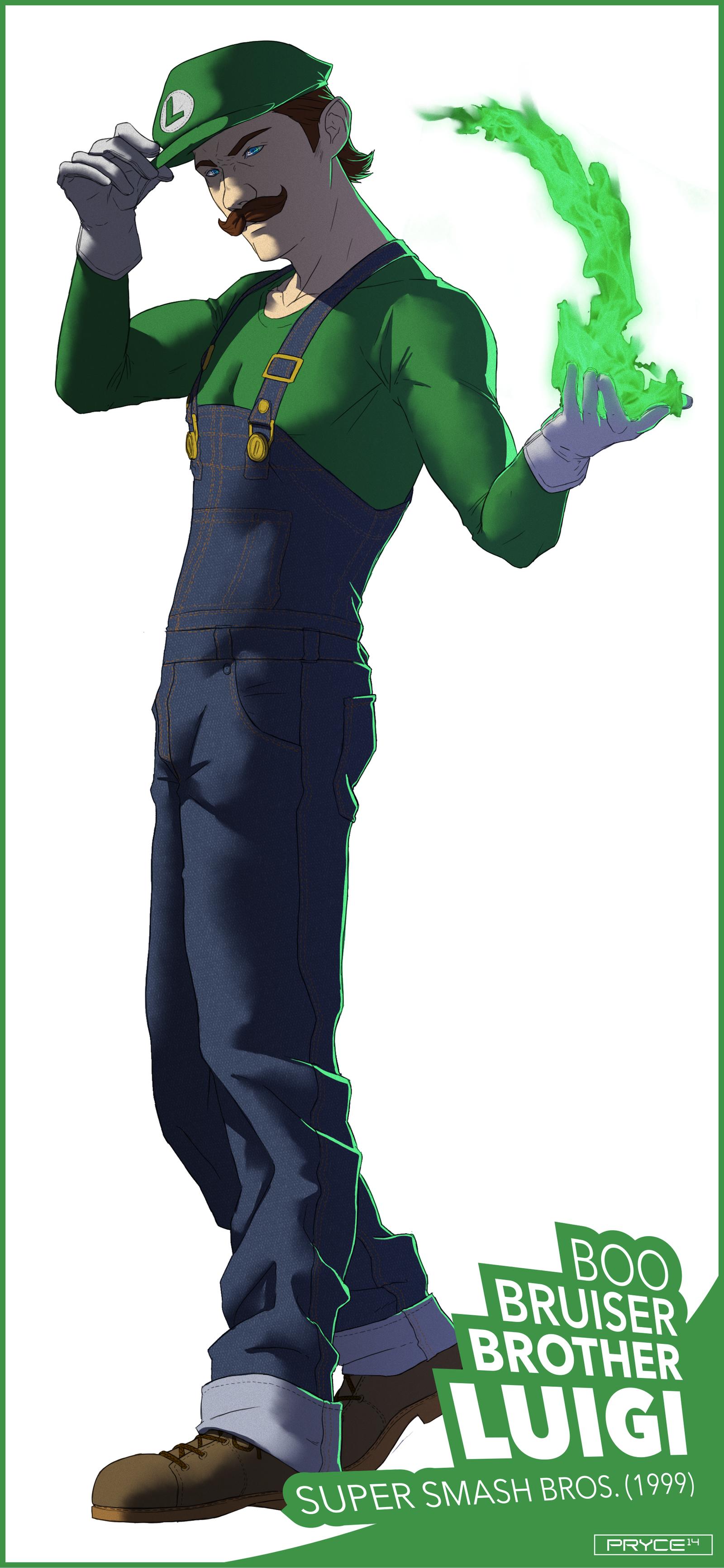 Luigi by Pryce14