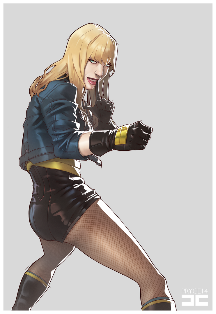 BLACK CANARY by Pryce14