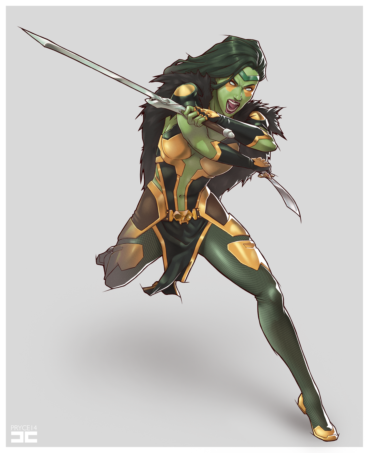 GAMORA by Pryce14