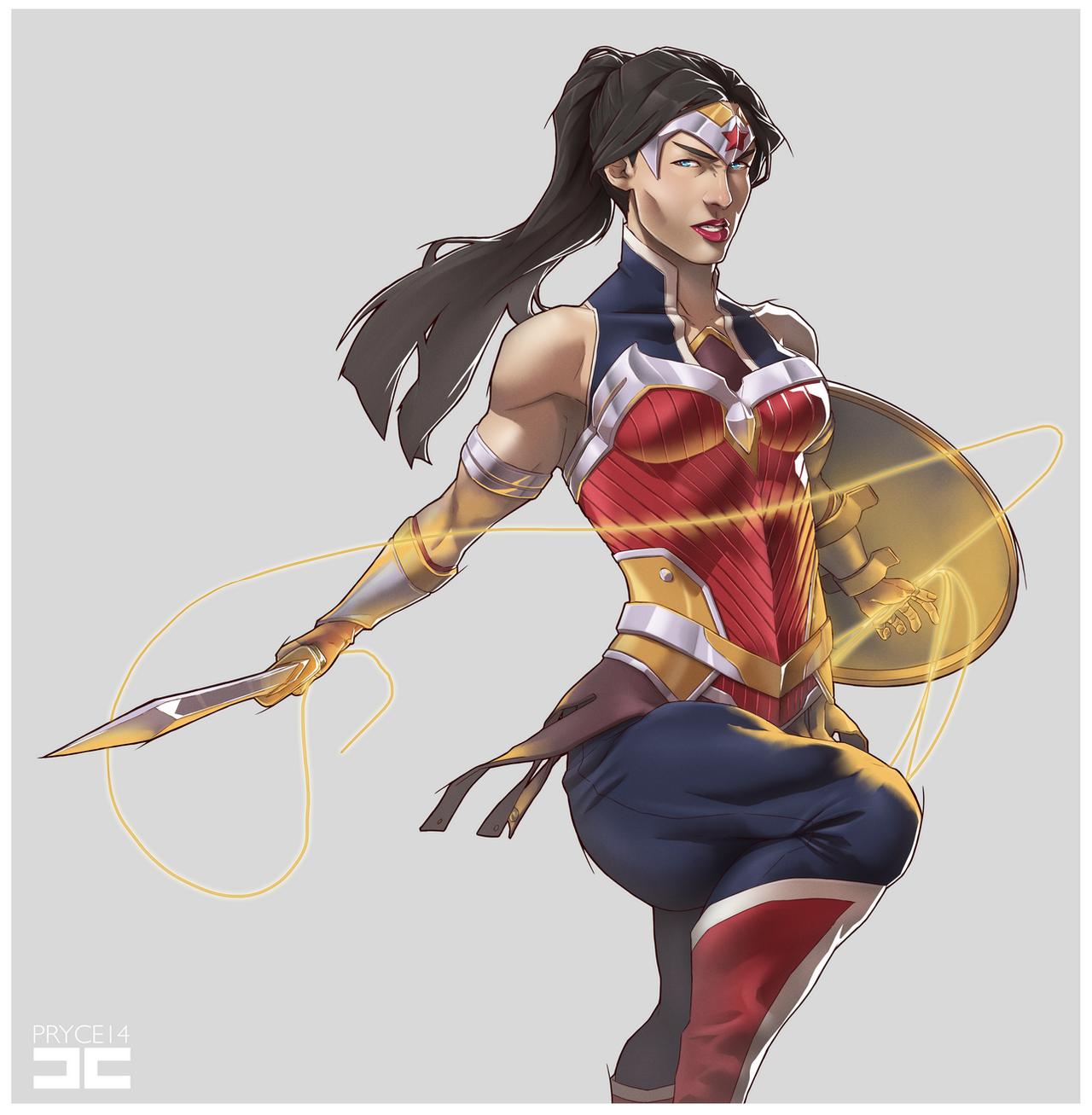 WONDER WOMAN by Pryce14