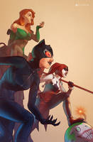 Gotham City Sirens by Pryce14