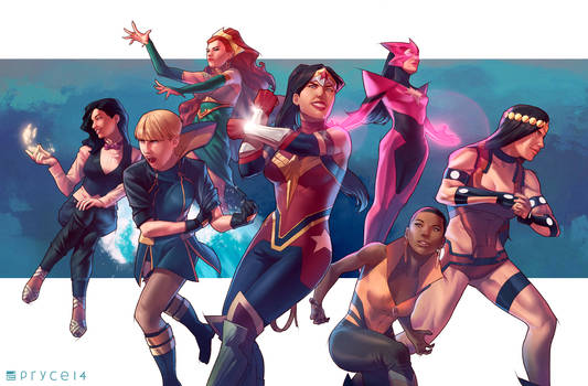 All-female Justice League
