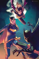 Batgirls by Pryce14