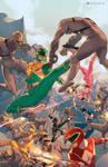 Mighty Morphin Power Rangers #1