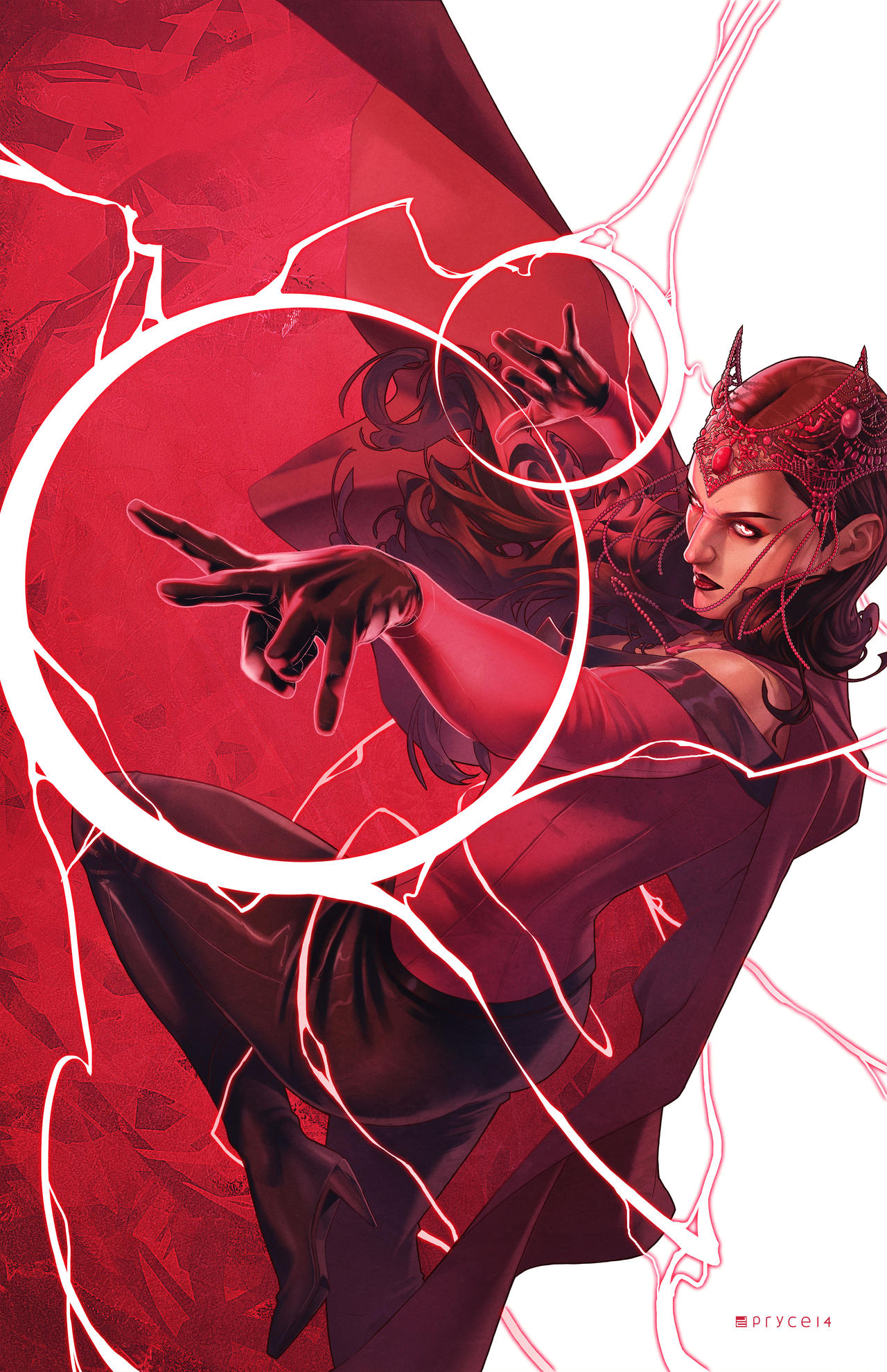 Scarlet Witch #4  -  Women of Power Variant by Pryce14