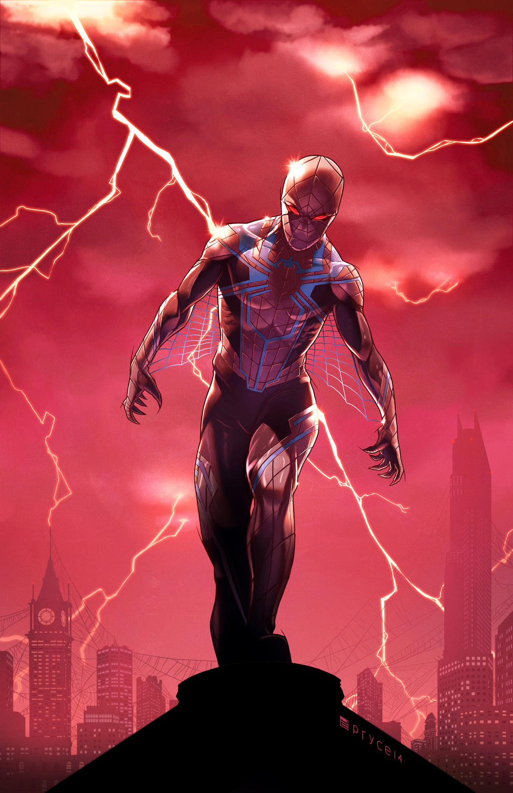 Amazing Spider-Man #12 - Apocalypse Wars Variant by Pryce14