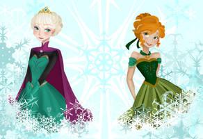 Frozen by Kuro-x-Sora
