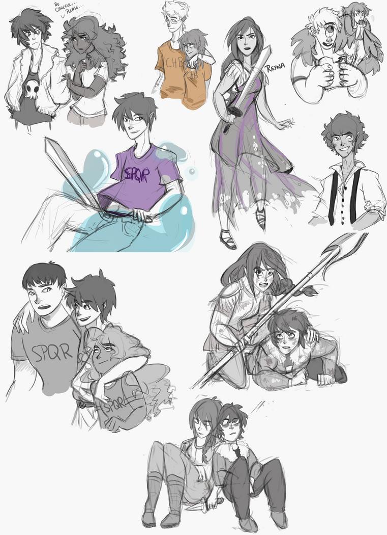 Percy Jackson Dump by Kuro-x-Sora