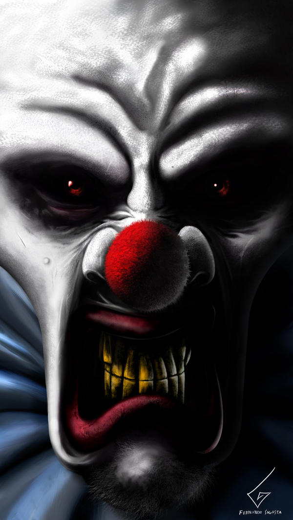 Menonite Clown by Dathy