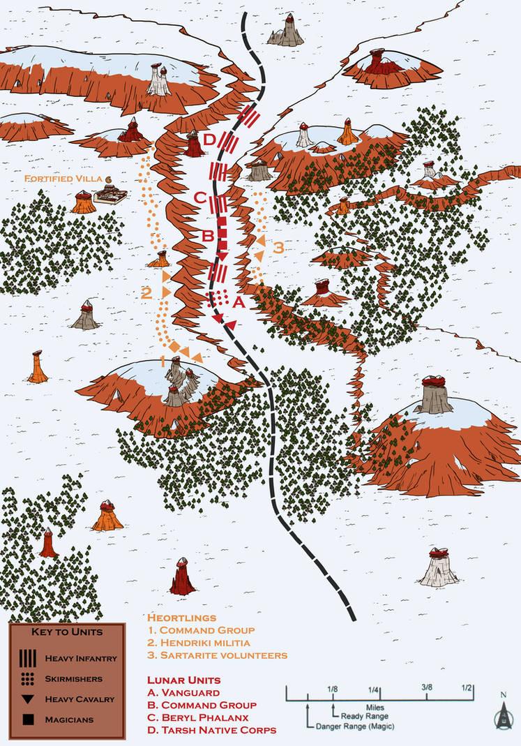 Battle of the Auroch Hills by magiy