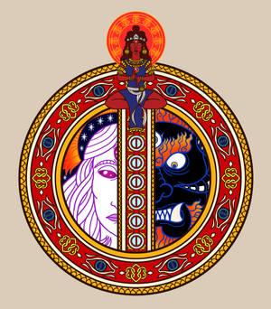 13G: Illuminated Moon Rune