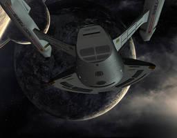 Orbiting Nova by mckinneyc