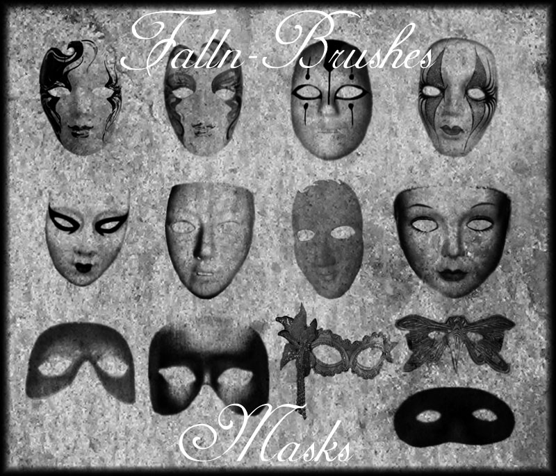 Masks Brushes by Falln-Brushes