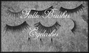 Eyelashes Brush Set by Falln-Brushes